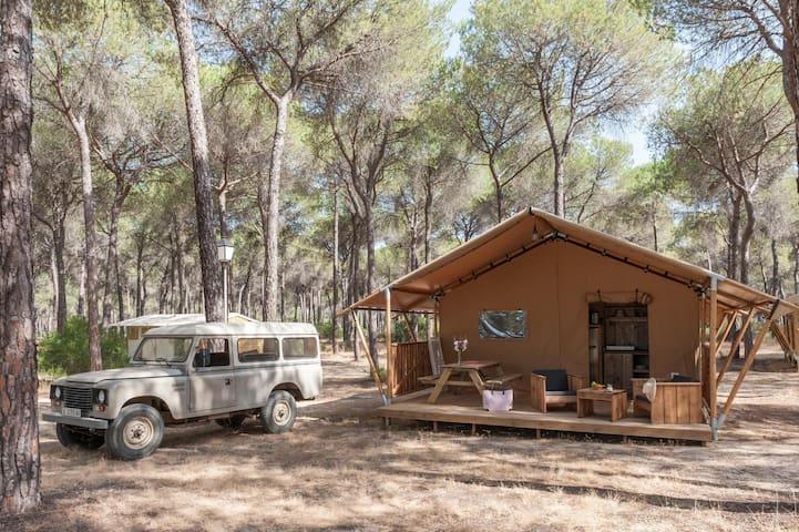 Glamping Sevilla - Tienda Lodge Huelva