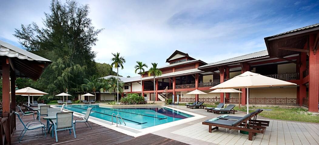 Rainforest Chalet Resort in Redang Island