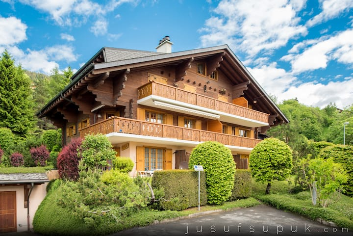 Apartment in Swiss chalet