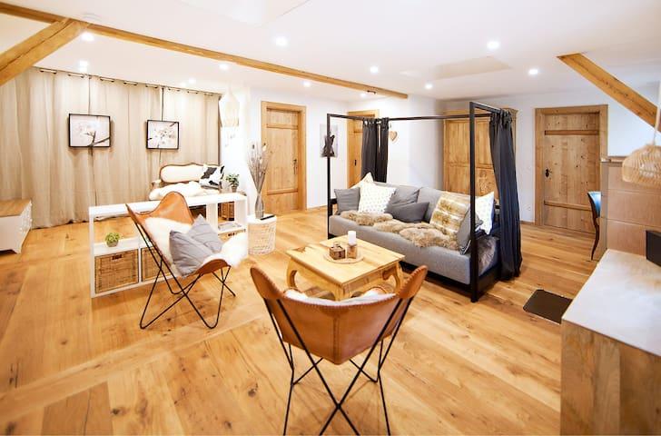 Studioappartement in alpinem Charm auf 1200m!