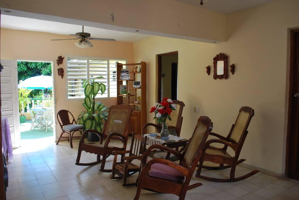 Sala del alojamiento
