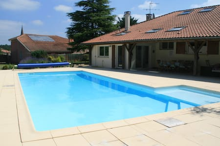 Large renovated villa with pool in SW France - Laluque