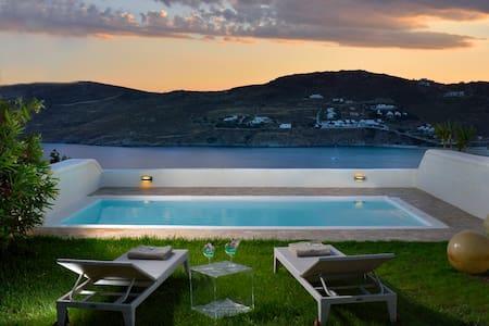 Villa Helios | View, Private Pool, Beach at 500m
