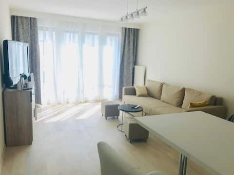 Renovated apartment in Montreux near the lake
