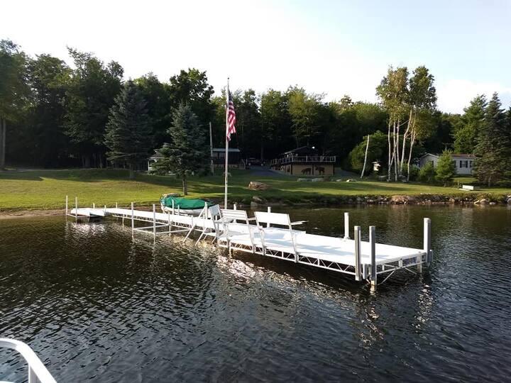 Adirondack Cabin on Chazy Lake upstate New York