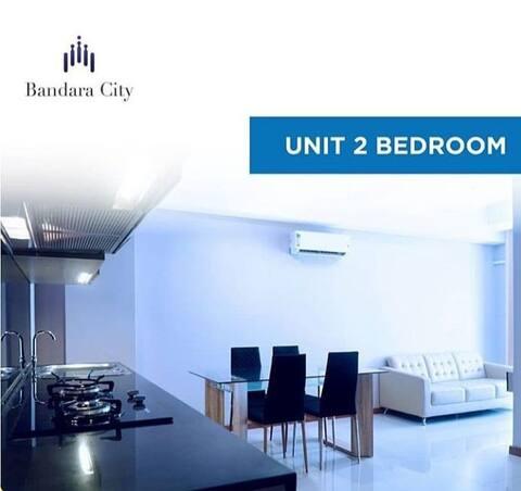 Apartemen disewakan bulanan type 2BR Full Furnish