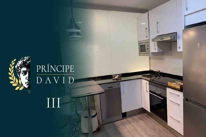 Principe David lll, 3 apartamentos en el centro