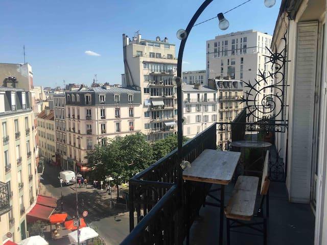 Joli appartement lumieux de 30m2 avec balcon