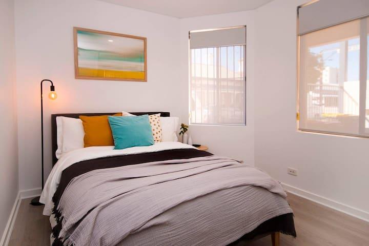 Ground Floor Bedroom - with build in robes