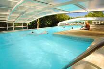 Chateau du Puits es Pratx swimming pool.