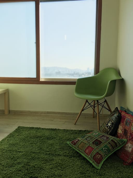 Warm&Cozy space with a view