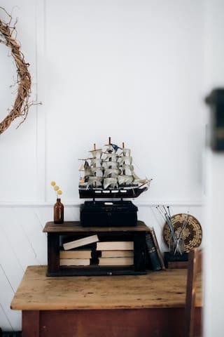 Study desk in bedroom 3