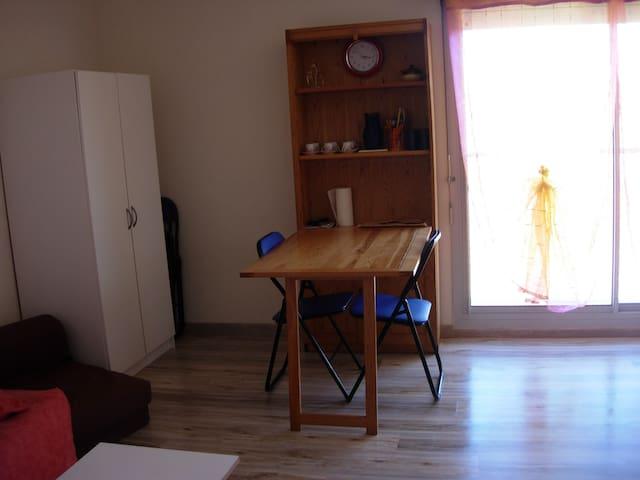 STUDIO SITUE AV. DE LA PLAGE AVEC PARKING PRIVE - Biscarrosse - Apartment