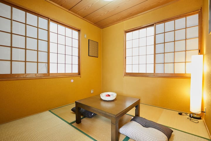 Japanese style room on the 3rd floor.