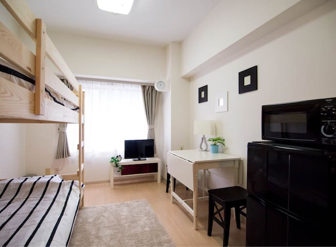 5min from Station/Center of Sapporo - Sapporo-shi - Apartamento