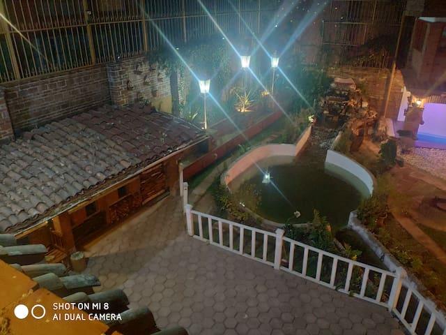 Casa para grupos bosques de Cuernavaca con alberca