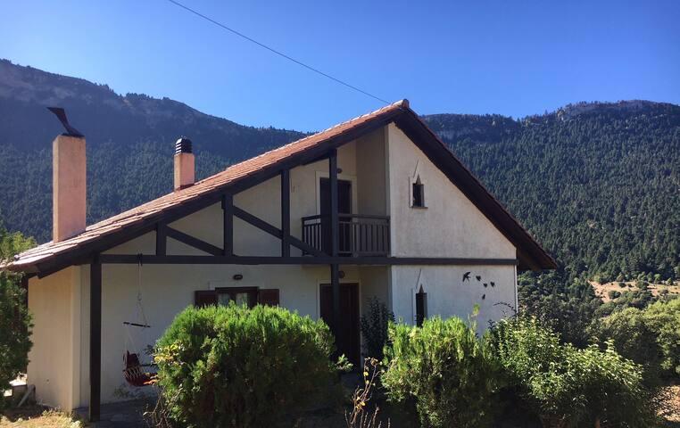 Grand View Chalet Vrachni