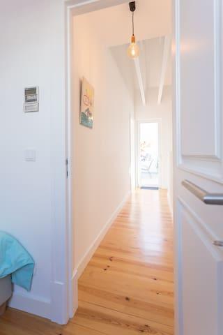 couloir accès chambre