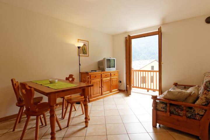 Accogliente appartamento nel Parco del Mont Avic - Mellier - Leilighet