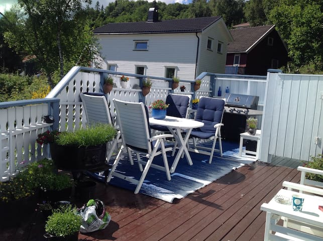 Apartment with cosy terrace - Trondheim - Apartament