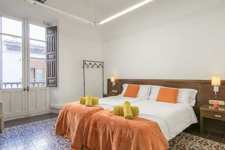 Hab 2 beds in house Ana Cathedral - Granada - Guesthouse