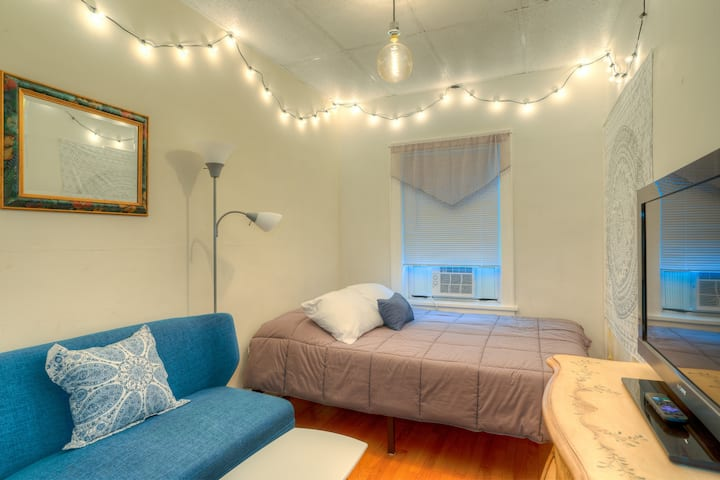 Charming Studio | Above Main Street | Free Parking