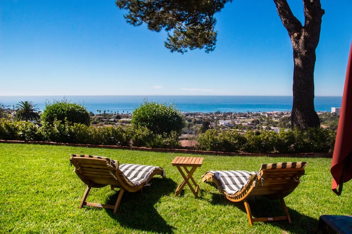 Magnificent Ocean Views and Sunsets in La Jolla