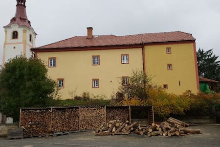 Historical priest house near Domazlice