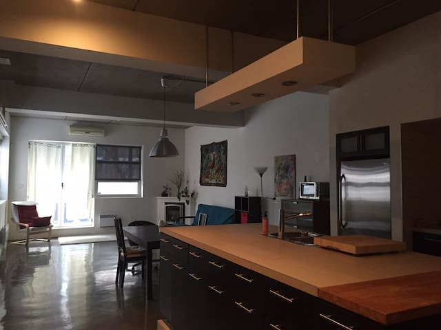 Entire luxury loft near subway and Olympic park - Montréal - Appartement