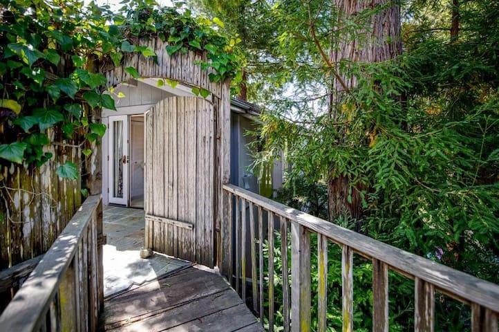 Furnished Carmel treehouse