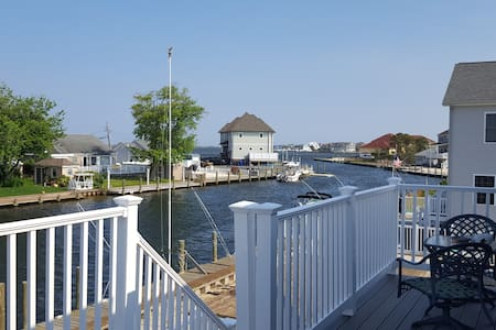 "On the water with Views, Walk to ""Bay"" Beach! - Toms River - House"