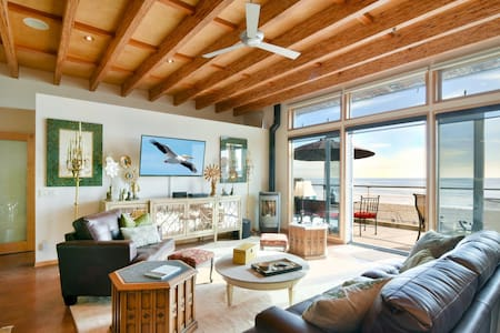 Exclusive Oceanfront Cayucos Loft!  Amazing Views