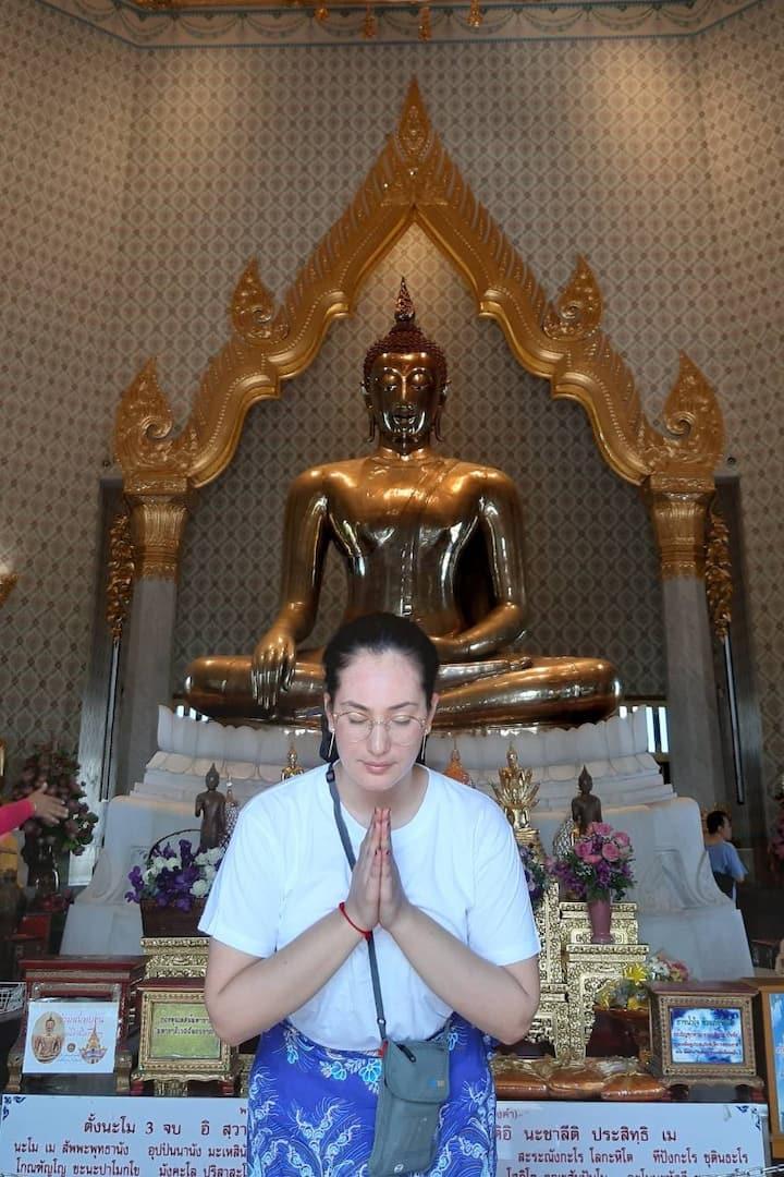5.5 Tonnes solid Golden Buddha