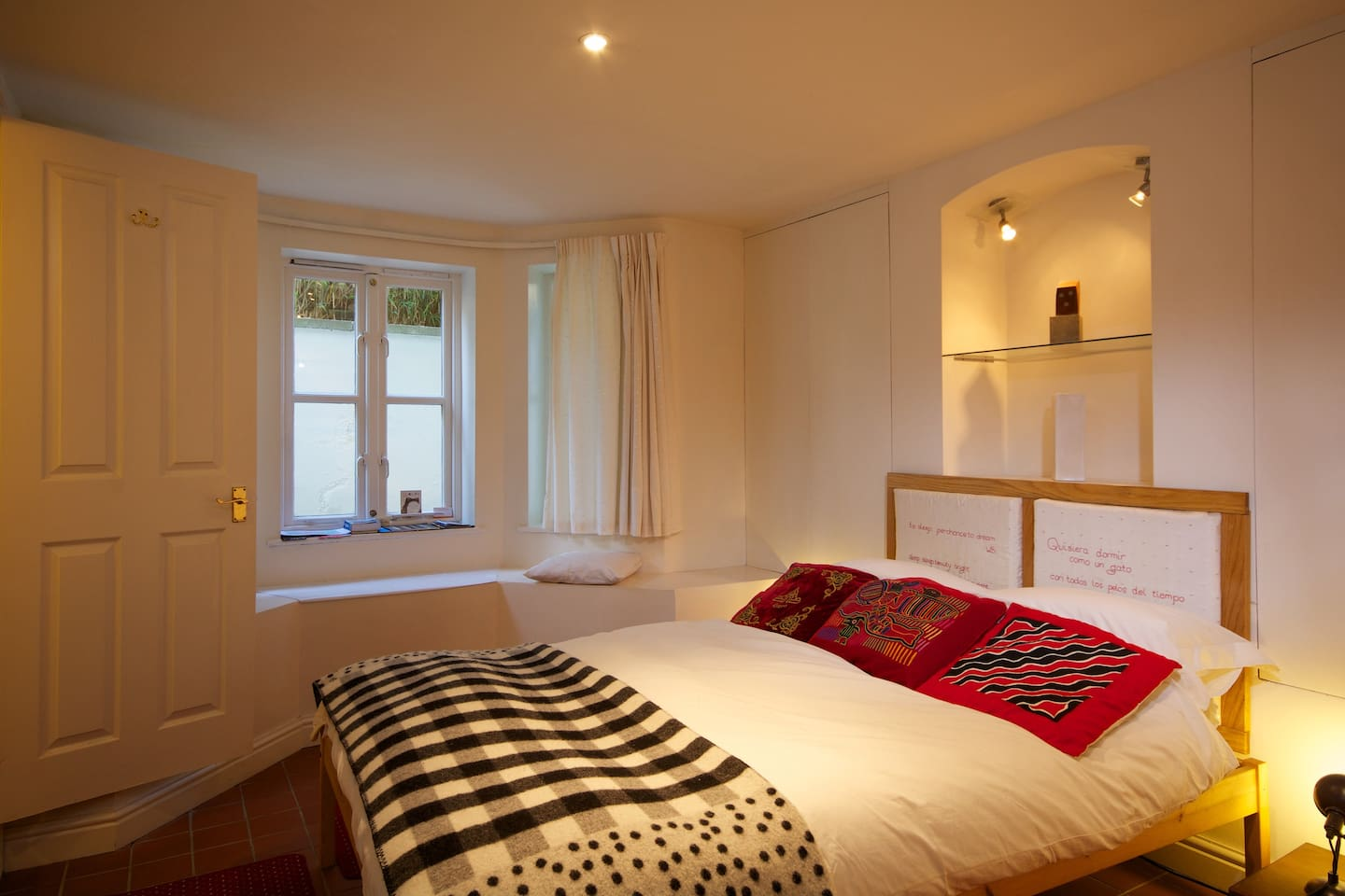 Your big, comfortable double bed.