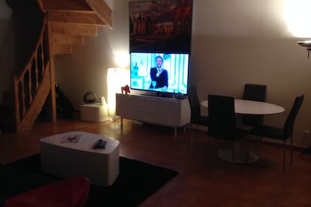 Duplex en  centre ville - Saint-Symphorien-d'Ozon - 公寓