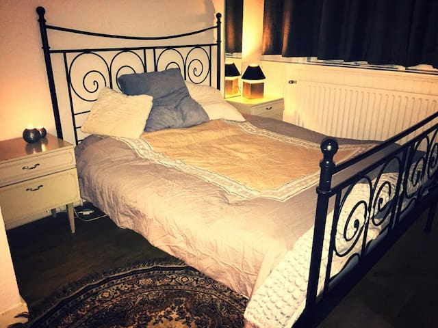 Room with double bed and great view - Rijswijk - Huis