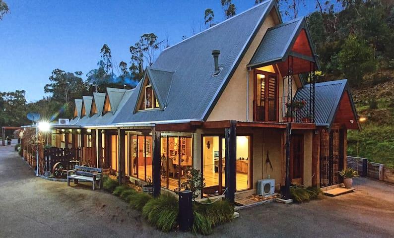 Birch House at Jody's Ridge, Yarra Glen