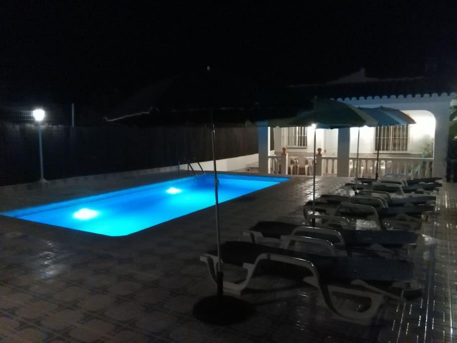 Casa rural completa privada con piscina privada y recinto en toda la casa privado