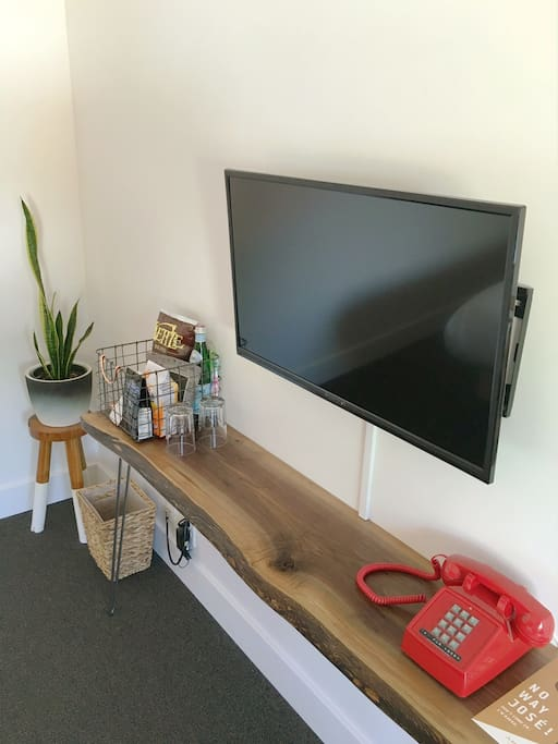 """Color TVs in each room! Though we aren't known for our entertainment systems, each room has a 32"""" HD LED TV as well as WIFI and a phone (that can sometimes dial the lobby if needed!)."""