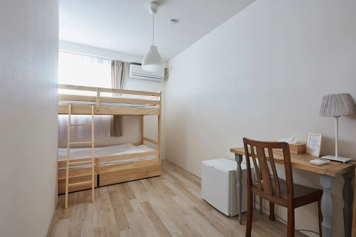 #7 Close to Shinagawa☆Guest house Free Wifi - Shinagawa-ku - Guesthouse