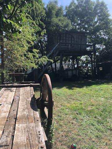 Cabane 5m de hauteur