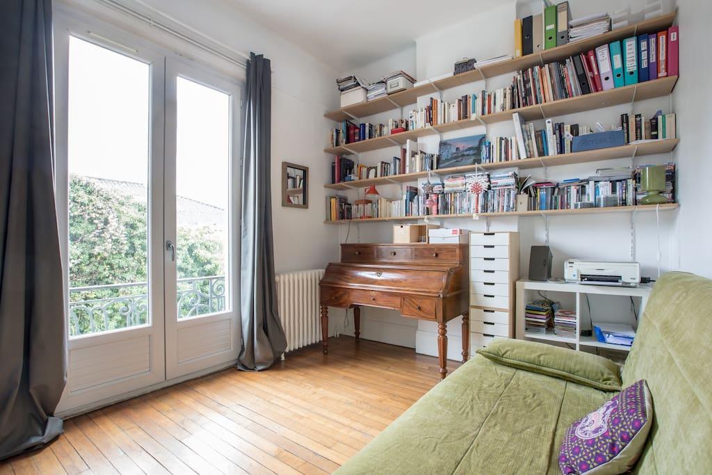 Charmante chambre au calme en ville appartements louer for Chambre calme en anglais