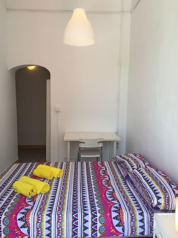 Dormitorio 1, cama de matrimonio
