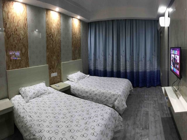 枸杞旅游度假公寓双床标间出租