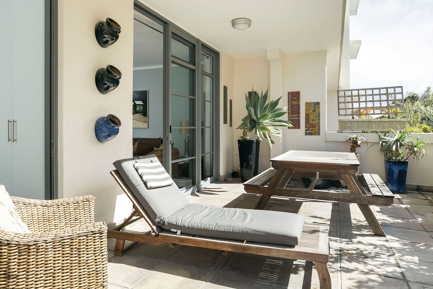 Your own sun terrace.  Get bronzed up before hitting the beach or just chill and read a book. You deserve it.