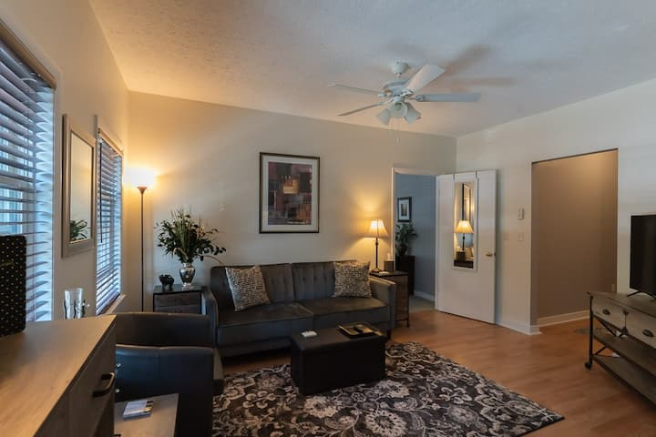 LARGE, LUXE- PRIME MAIN STREET Flat,  #1