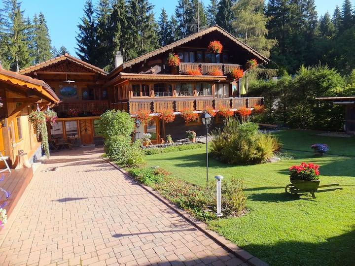 Chambre montagnarde proche de Montreux