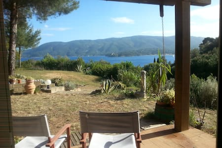 Lovely country house with amazing view - Porto Azzurro