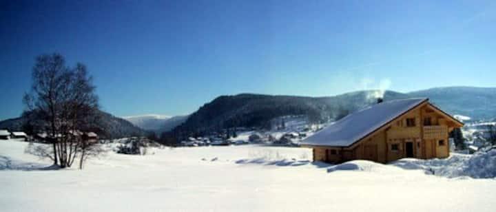 chalet 5 places magnifique vue