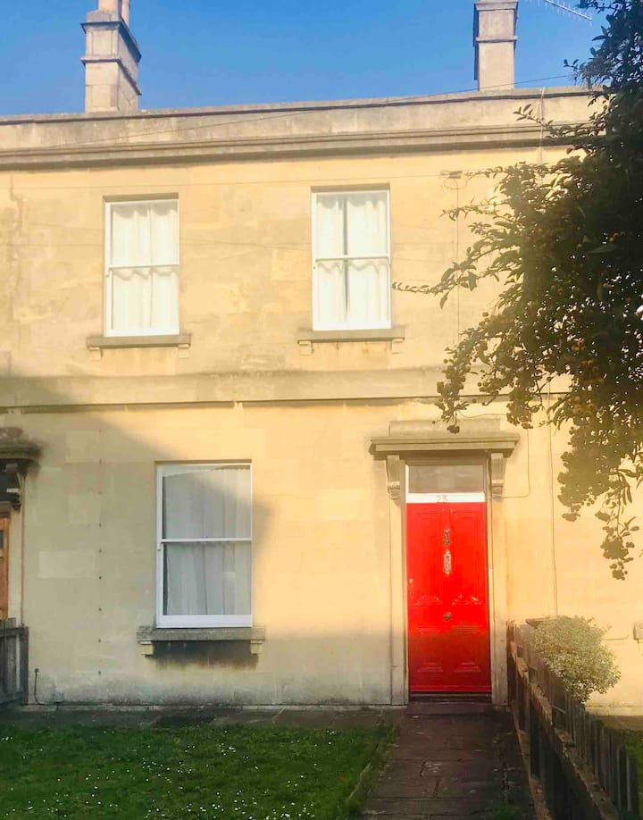 Number 23 ...the red door. Central Bath home!